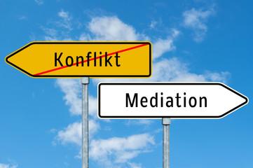 Mediation - Konfliktlösungen
